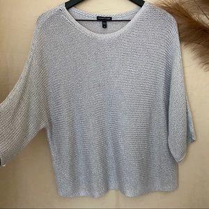 Eileen Fisher Batwing Knit Sweater